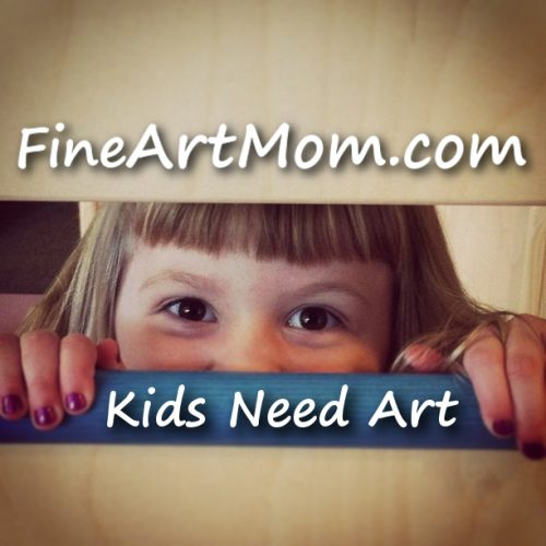 Header Image Kids Need Art with Fine Art Mom