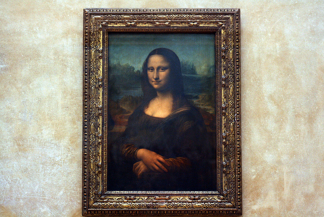 Fine Art Mom - Mona Lisa Pic