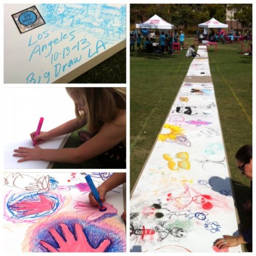 Fine Art Mom Big Draw LA Grand Park