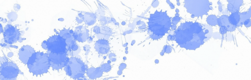 Fine Art Mom Blue Paint Splats Cover