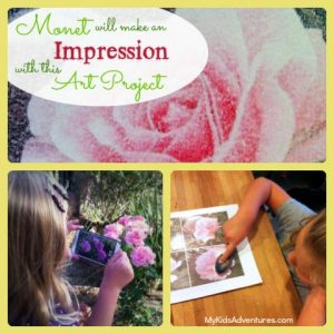 Fine Art Mom Monet Photo Transfer Impressions