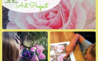 Art For Kids:  Monet-Inspired Photo Transfer Project