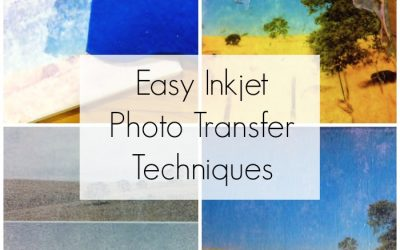 How to Create a Vintage Style Photo on Canvas with Inkjet Photo Transfer