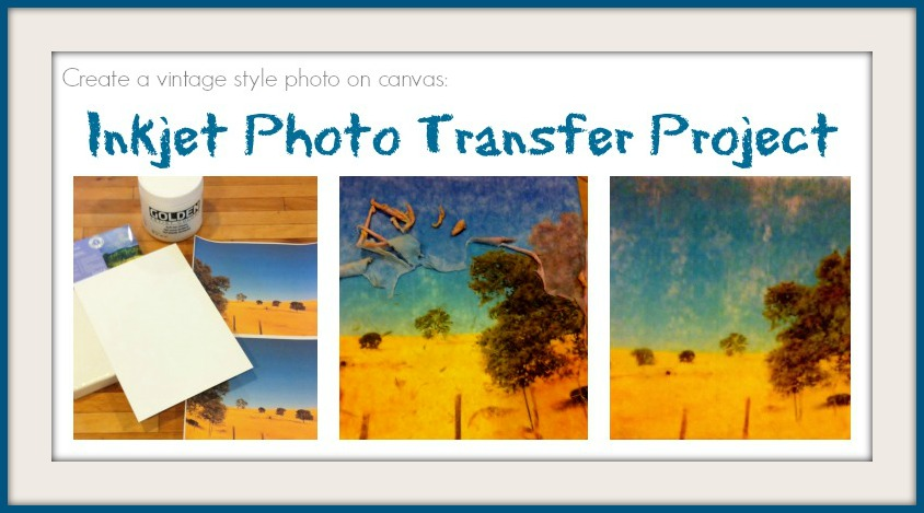 image on canvas with inkjet transfer paper www news