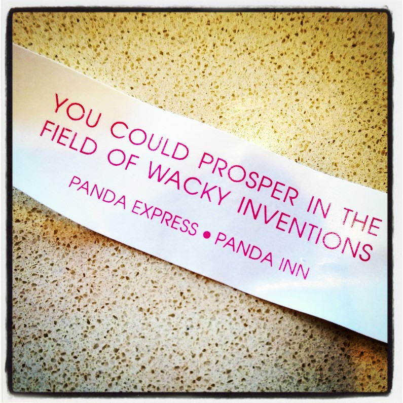 Invention Fortune Cookie