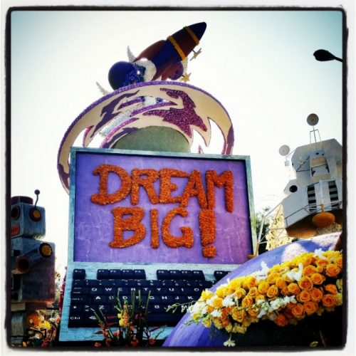 Rose Parade Dream Big 2015