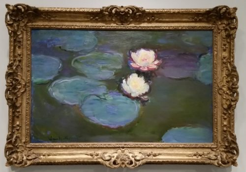 LACMA Monet Water Lilies