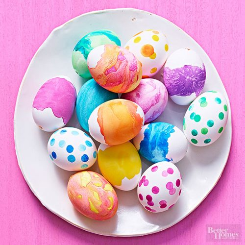 Watercolor Eggs