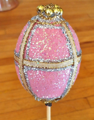 Faberge Style Easter Egg