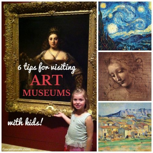 6 Steps for Visiting Art Museums with Kids
