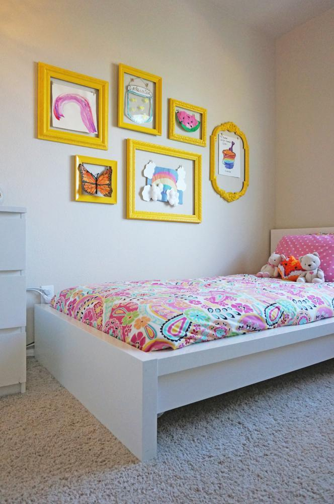 5 Easy Kids Wall Art Projects Frame Wall