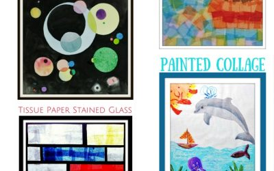 Monthly Art Projects for Kids on Woo! Jr.