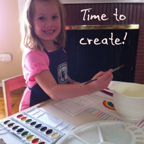Fine Art Mom Time to Create