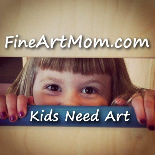 Header Image Kids Need Art with Fine Art Mom