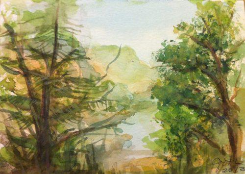 Fine Art Mom - Tulloch Watercolor