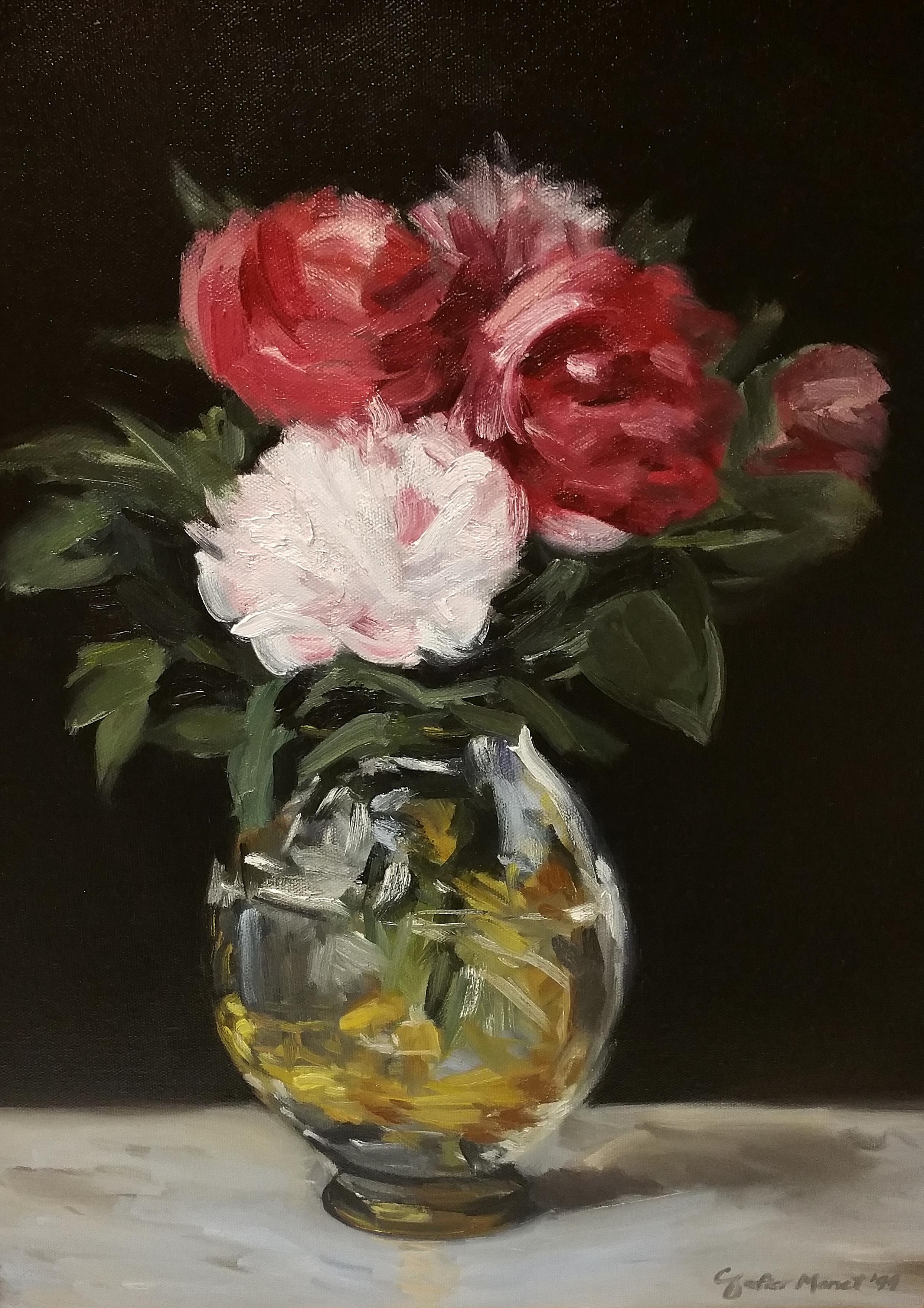 Datei:Édouard Manet Bouquet of Peonies.JPG – Wikipedia |Manet Flowers