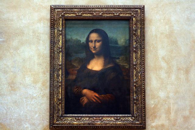 Fine Art Mom - Mona Lisa Pic