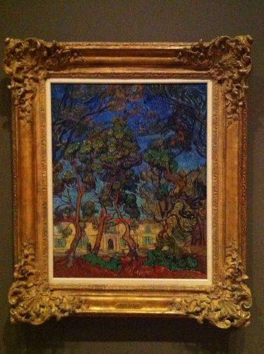 Vincent van Gogh Hospital at Saint-Remy