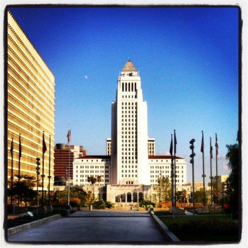 Fine Art Mom Los Angeles City Hall
