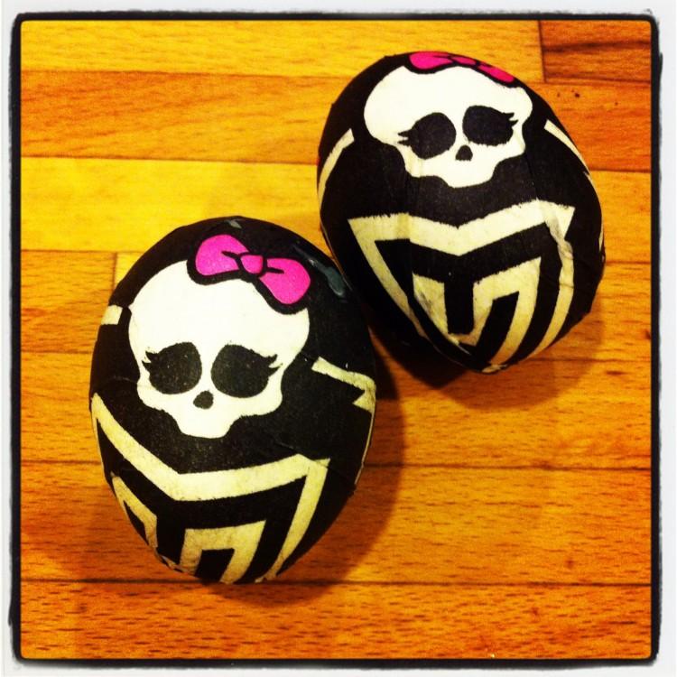 Monster High Easter Eggs Fine Art Mom