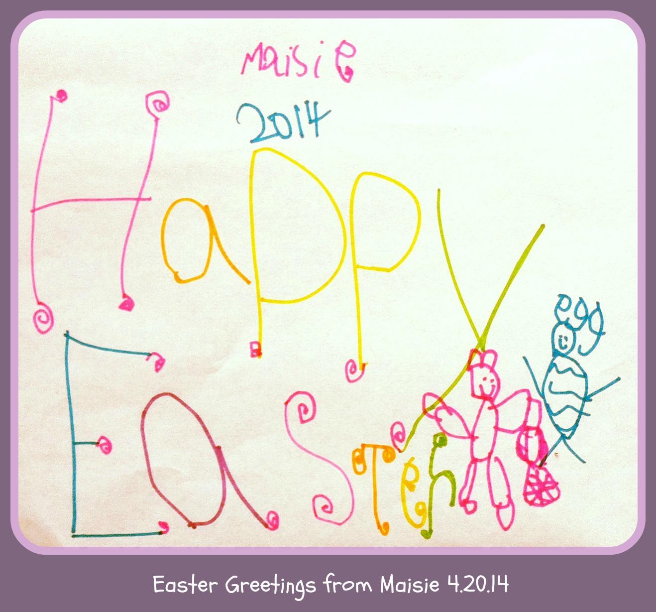 Happy Easter Fine Art Mom