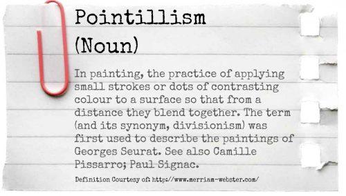 Pointillism Definition Art for Kids Fine Art Mom