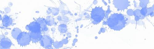 Fine Art Mom Blue Paint Splats