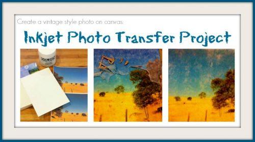 Inkjet Photo Transfer Collage Fine Art Mom
