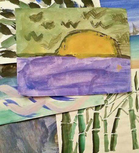 LACMA Fine Art Mom Childrens Painting