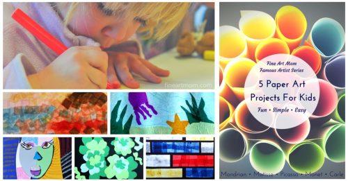 Fine Art Mom - Creative Fun Art Projects for Kids