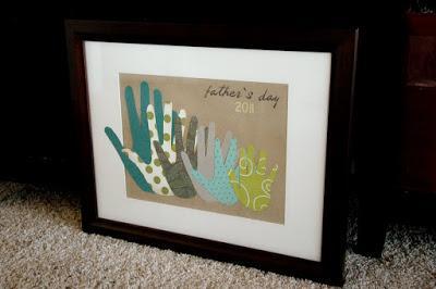 5 Easy Kids Wall Art Projects Handprint Art